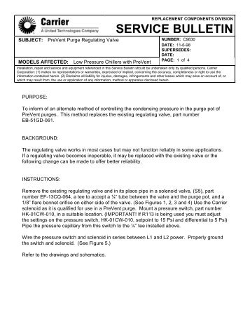 carrier 30gb chiller wiring diagram quell smoke alarm units 30hk hl service bulletin