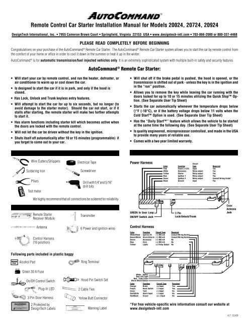 ready remote 24927 wiring diagram honda gl1800 manual sbguide co control car starter installation for rh yumpu com 24923