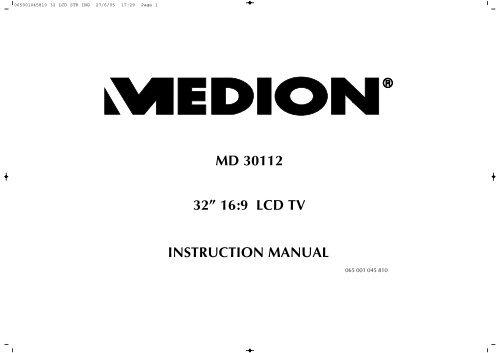 Bedienungsanleitungen Medion Tv