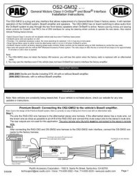 Pac Rp5 Wiring Diagram Pac Rp5 Wiring Diagram Pac Get Free Image About Wiring
