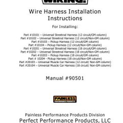 Painless Wiring Dual Battery Instructions 95 S10 Starter Diagram Harness | Get Free Image About