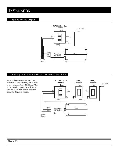 File Name: Lightolier Wiring Diagram