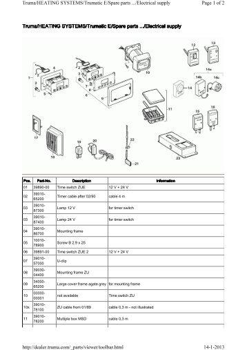 Truma spare parts australia newmotorwall boiler parts truma cheapraybanclubmaster Gallery