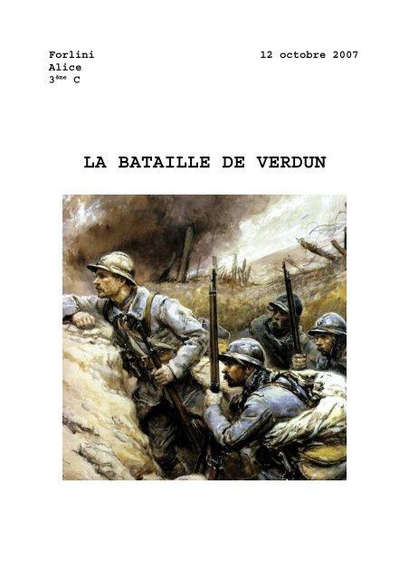 Déroulement De La Bataille De Verdun : déroulement, bataille, verdun, Bataille, Verdun