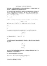 All Worksheets  Velocity Acceleration Worksheets ...