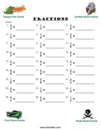 All Worksheets  Changing Fractions To Decimals Worksheets