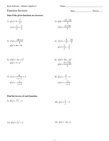 Exponents Worksheets Kuta Photos