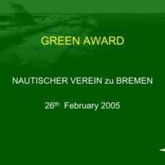 Car Stereo Centrum Bremen 1998 Honda Crv Wiring Diagram Universum The Green Award Scheme Nautischer Verein Zu