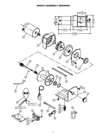 Warn Atv Winch Solenoid Wiring Diagram. Engine. Wiring