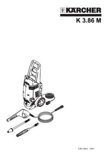 Karcher Pressure Washer Parts Manual