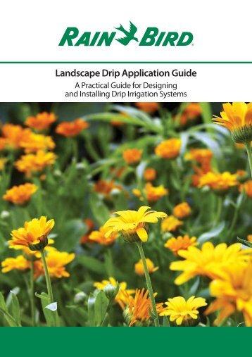 25+ Rain Bird Landscape Irrigation Design Manual Pictures
