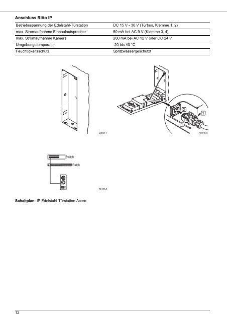 Schaltplan Der Ip Kamera