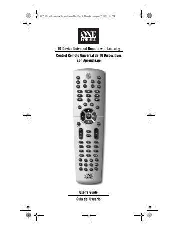 Urc 8305 manual pdf