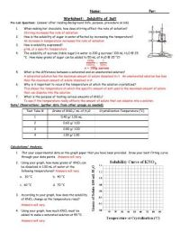 All Worksheets  Soluble And Insoluble Substances