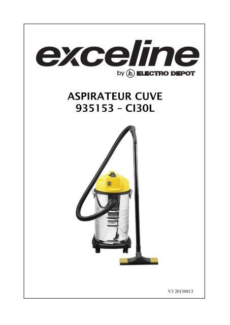 aspirateur cuve 935153 a ci30l
