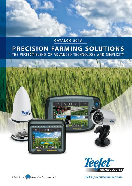 Teejet Catalog : teejet, catalog, Catalog, Precision, Farming, Solutions, TeeJet