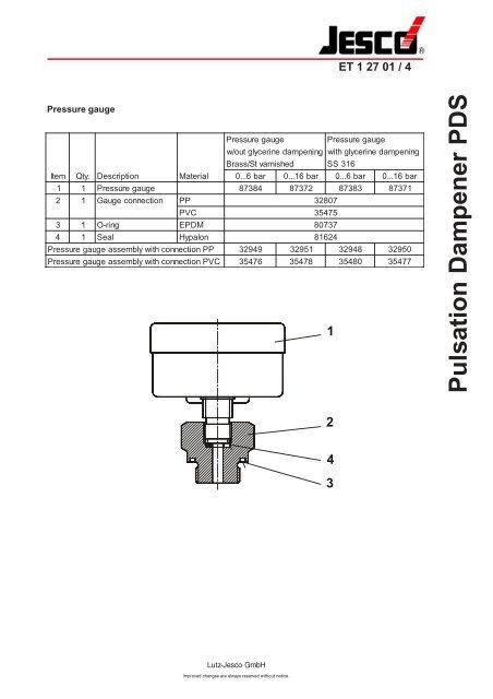 hydril pulsation dampener manual