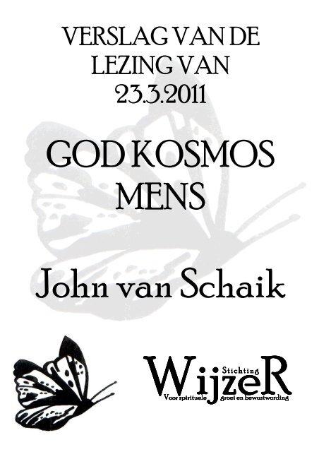 God-Kosmos-Mens John van