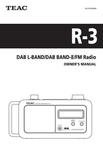 User's Guide AM/FM/Weather Band Emergency Crank Radio