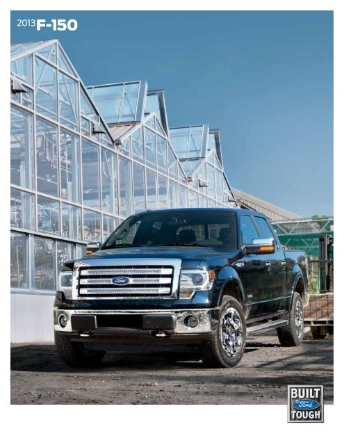 Ford F150 Blue Jeans : jeans, F-150, Brochure, Clickmotive