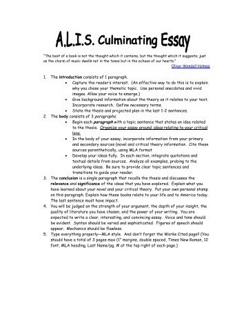 Analysis Essay Outline Analytical Writing Topics