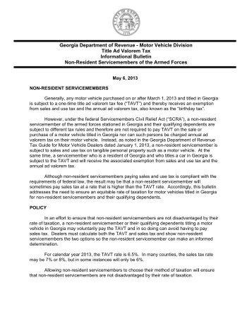 Georgia motor vehicle registration renewal for Motor vehicle reports online