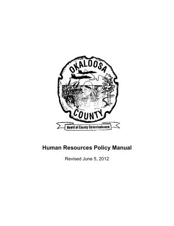 Mecklenburg County Human Resources Policy and Procedure Manual