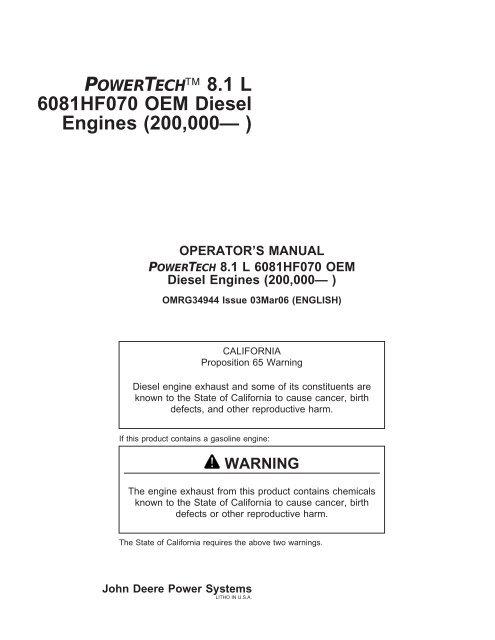 omrg34944 6081 hpcrpdf  john deere industrial engines