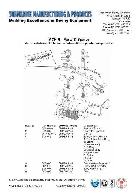 parts of a submarine diagram jeep alternator wiring mch 6 spares manufacturing and products ltd