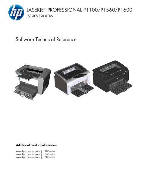 Hp Laserjet P1102 Offline Installer : laserjet, p1102, offline, installer, LaserJet, Professional, P1100/P1560/P1600, Series, Printers