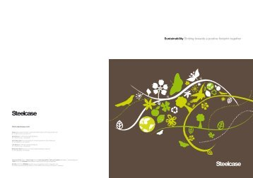 steelcase amia chair brochure animal print dining covers think simple. smart. sustainable. -