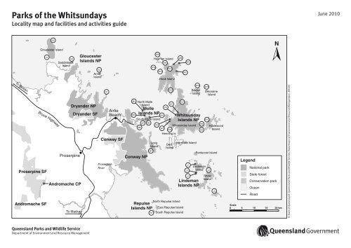 Parks of the Whitsundays