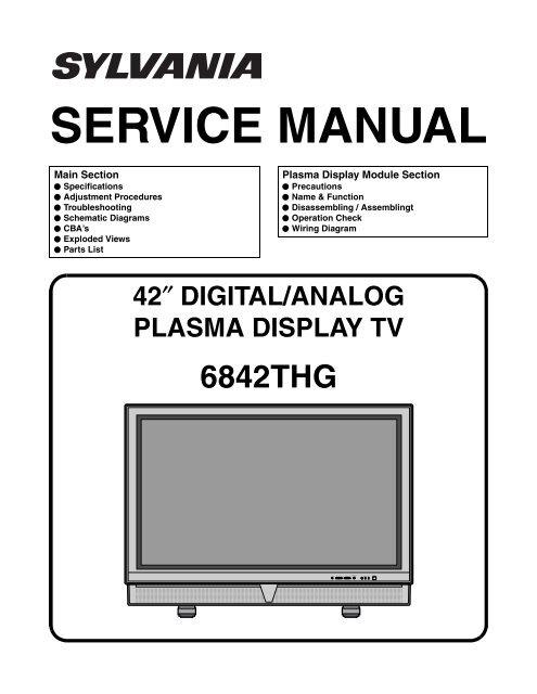 magnavox tv schematic diagrams wiring schematic diagram