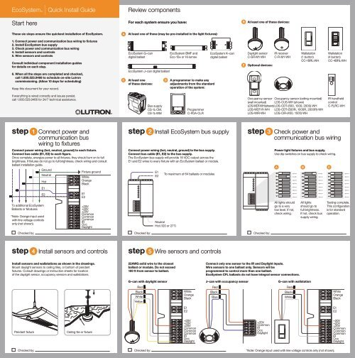 Lutron Ceiling Occupancy Sensor Wiring Diagram