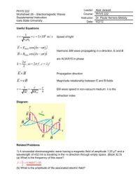 100+ [ Worksheet Electromagnetic Spectrum ...