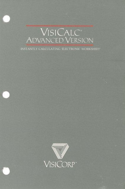 visicalc-iii-advanced-version-manual