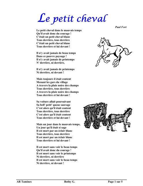 Le Petit Cheval Dans Le Mauvais Temps : petit, cheval, mauvais, temps, Petit, Cheval