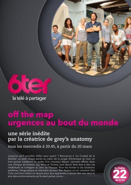 Off The Map : Urgences Au Bout Du Monde : urgences, monde, Urgences, Monde, Série, Groupe