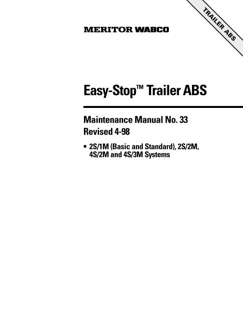 wabco abs fehlercode auflieger bmw e39 rear suspension diagram easy stoptm trailer meritor