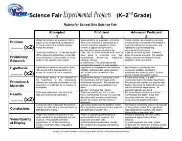 6th Grade Science Fair Research Paper Custom Paper Academic Writing
