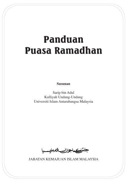 Doa Mandi Puasa Qadha Ramadhan : mandi, puasa, qadha, ramadhan, Panduan, Puasa, Ramadhan