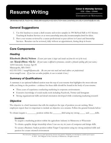 Law School Applications 101 Writing a Resume for   Career Center