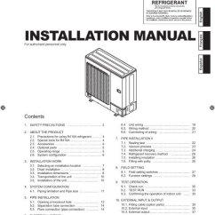 Fujitsu Aou24rlxfz Wiring Diagram Scart Installation Manuals Schematic Manual General Portal Viewer Invacare Pendent Bed