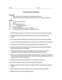Intro to Using Commas | Grammar Worksheets from K12reader.com
