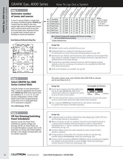 lutron grafik eye 4000 wiring diagram 4 pin for trailer series