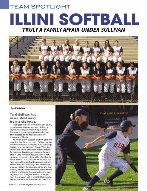 Soal Softball : softball, TRULY, FAMILY, AFFAIR, UNDER, SULLIVAN, Softball, Magazine