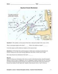 Digital Nautical Chart (DNC) - NGA