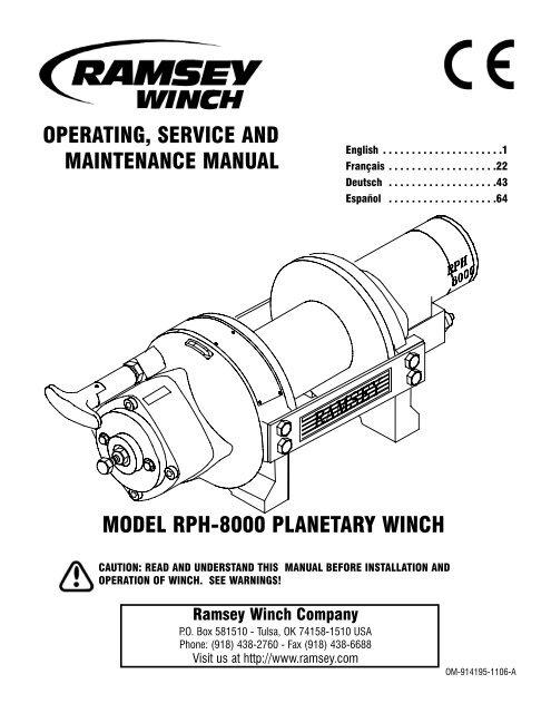 Ramsey 8000 Winch Wiring Diagram | familycourt.us on