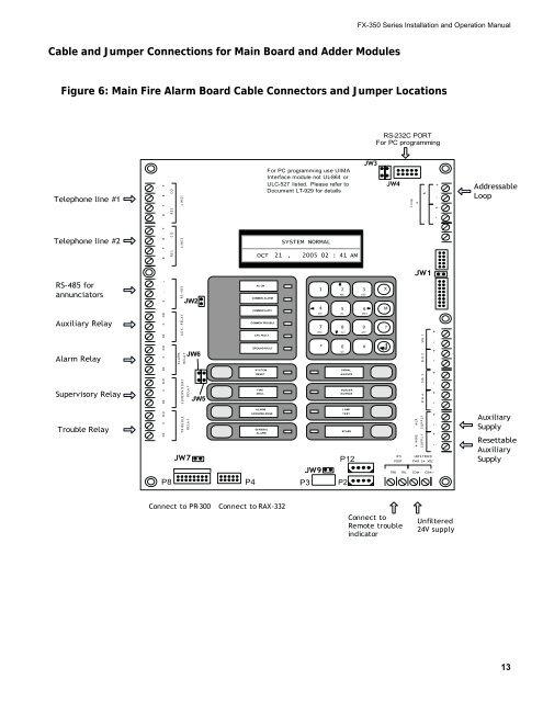 Mircom Fire Alarm Wiring Diagram