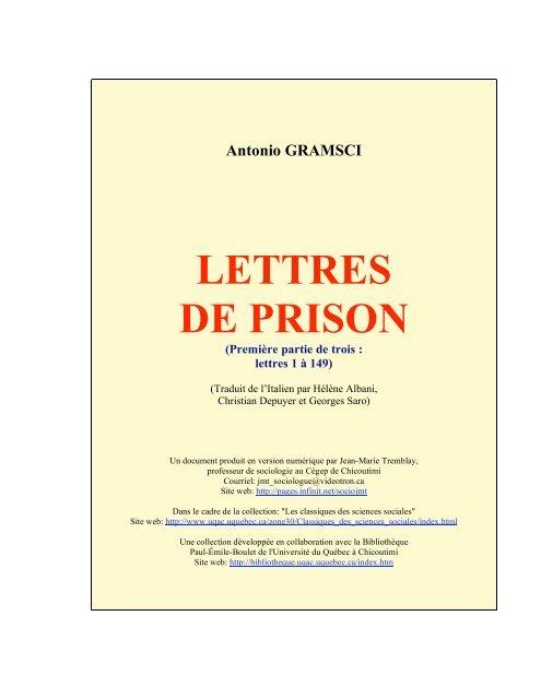 Vive Replique En 5 Lettres : replique, lettres, Lettres, Prison, Classiques, Sciences, Sociales